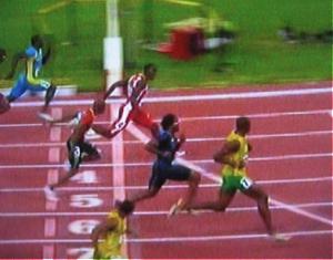 Carrera atlética. Juegos Olímpicos de Pekín, Agosto,  2008