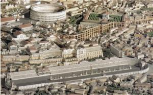 Roma con coliseo