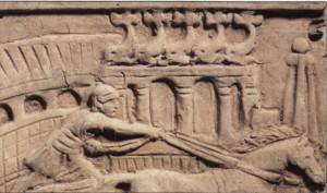 Relieve de una tumba dedicada a un auriga.