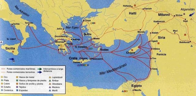 Rutas comerciales cretenses