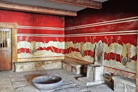 Salón del trono. Palacio de Cnoso.