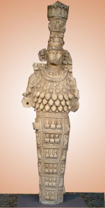 Artemisa de Éfeso, copia romana del siglo I d. C. Museo de Efeso (Turquía)