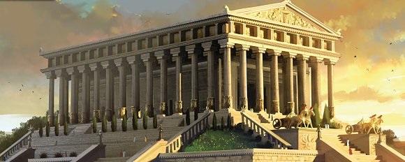 Artemision de Éfeso. Reconstrucción.