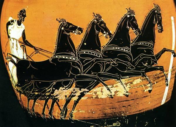 Resultado de imagen para caballos en la grecia antigua