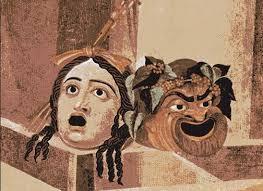 Mosaico con máscaras escénicas, s. II d. C. Museo Capitolino