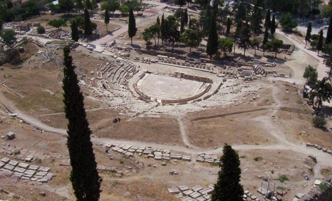 Teatro de Dioniso en Atenas