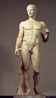 Dóriforo de Policleto s. V. a.C.