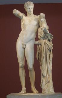 Hermes y Dionisos niño